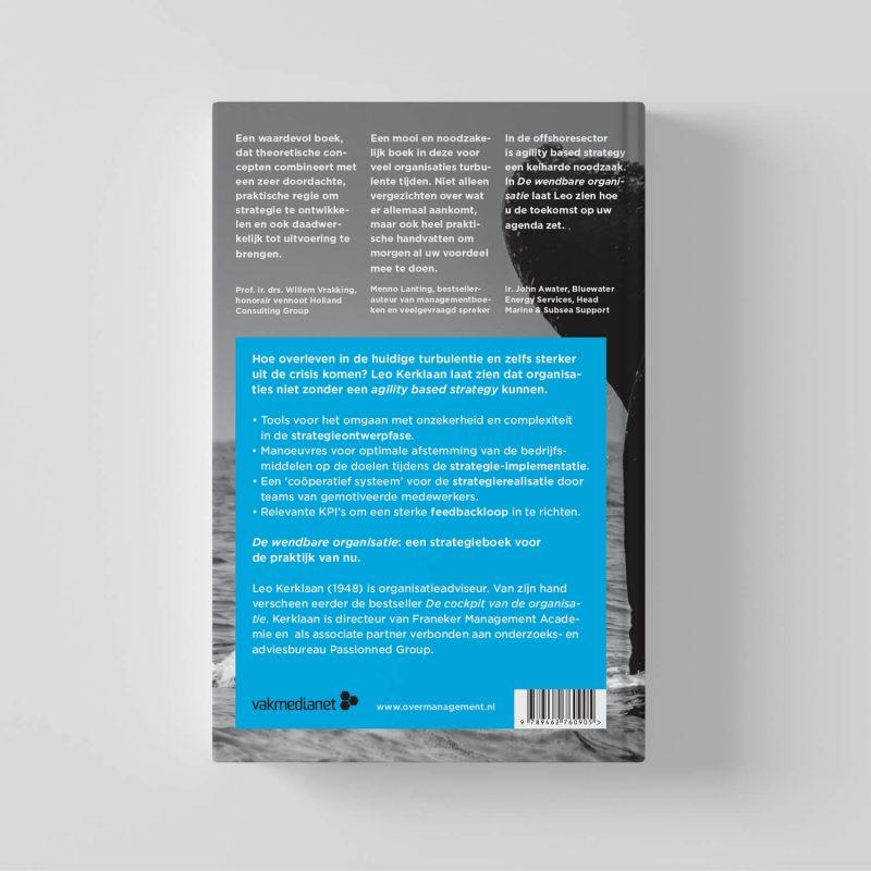 Het boek 'De wendbare organisatie' | Leo Kerklaan | Agility based strategy in de praktijk